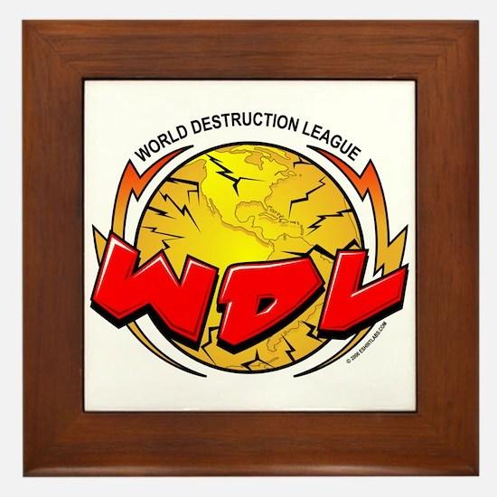 CoV WDL World Destruction Lea Framed Tile