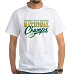 2010 Nat10nal Champs White T-Shirt
