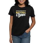 2010 Nat10nal Champs Women's Dark T-Shirt