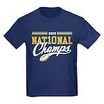 2010 Nat10nal Champs Kids Dark T-Shirt