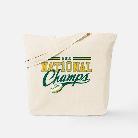 2010 Nat10nal Champs Tote Bag