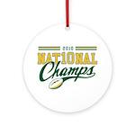 2010 Nat10nal Champs Ornament (Round)