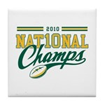 2010 Nat10nal Champs Tile Coaster