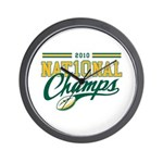 2010 Nat10nal Champs Wall Clock