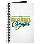 2010 Nat10nal Champs Journal