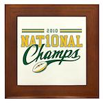 2010 Nat10nal Champs Framed Tile