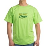 2010 Nat10nal Champs Green T-Shirt (2/S)