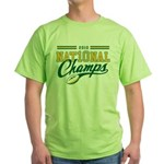 2010 Nat10nal Champs Green T-Shirt