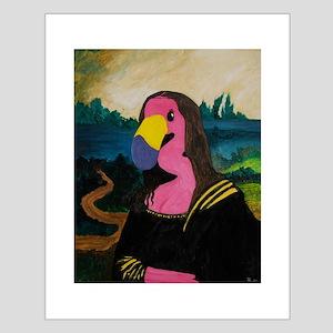 Mona Flamingo Small Poster