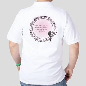 Dance is the Only Art by DanceShirts.com Golf Shir