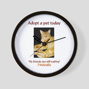 Adopt A Pet - Wall Clock