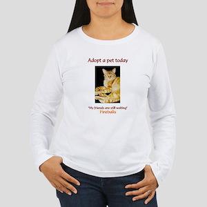 Adopt A Pet - Women's Long Sleeve T-Shirt