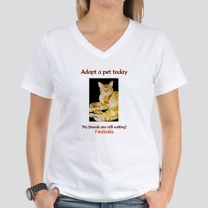 Adopt A Pet - Women's V-Neck T-Shirt