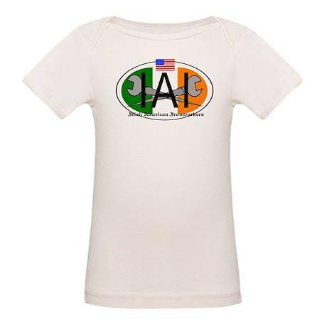Irish American Ironworker Organic Baby T-Shirt