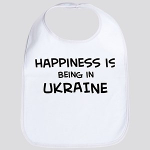 Happiness is Ukraine Bib