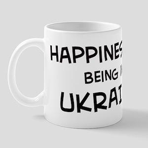 Happiness is Ukraine Mug