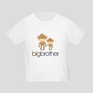 Big Brother Monkey Toddler T-Shirt