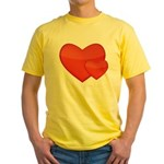 Hearts Yellow T-Shirt