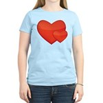 Hearts Women's Light T-Shirt