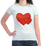 Hearts Jr. Ringer T-Shirt