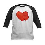Hearts Kids Baseball Jersey