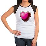 Heart Women's Cap Sleeve T-Shirt