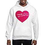 Heart Hooded Sweatshirt