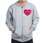 Heart Zip Hoodie