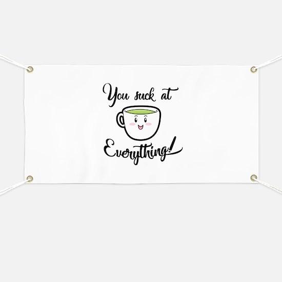 A little tea time wisdom Banner