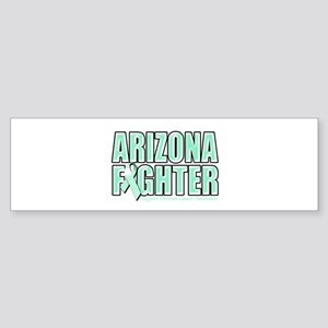 Arizona Ovarian Cancer Fighter Sticker (Bumper)
