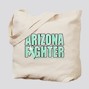Arizona Ovarian Cancer Fighter Tote Bag