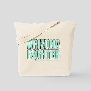 Arizona Ovarian Cancer Fighter Tote Bag
