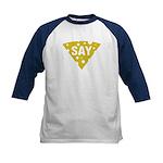 Say Cheese! Kids Baseball Jersey