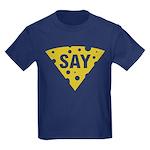 Say Cheese! Kids Dark T-Shirt