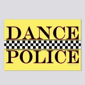 Dance Police Euro Postcards (Package of 8)