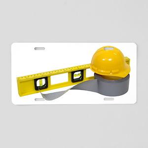 HardHatTools071809 Aluminum License Plate