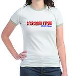"""""""Triathlon Virgin"""" Jr. Ringer T-Shirt"""