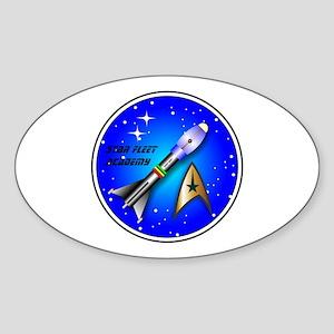 Star Fleet Academy Sticker (Oval)