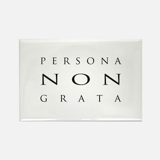 Persona non Grata - Rectangle Magnet