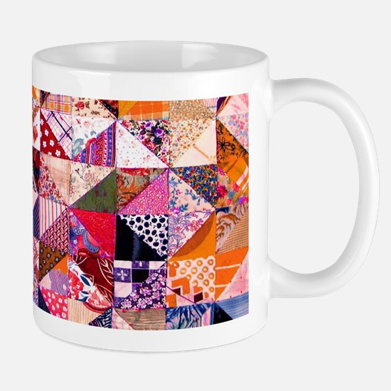 Country Patchwork Quilt Mugs