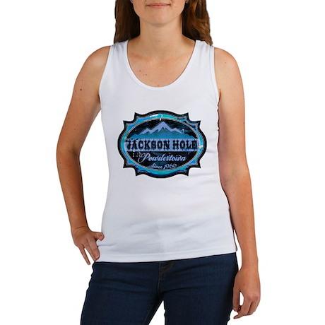 Jackson Hole Powdertown Ice Women's Tank Top