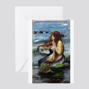 A Mermaid (study) Greeting Card