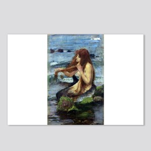 A Mermaid (study) Postcards (Package of 8)