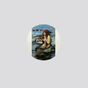 A Mermaid (study) Mini Button