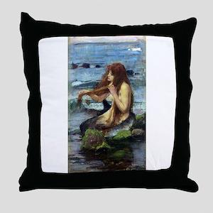 A Mermaid (study) Throw Pillow