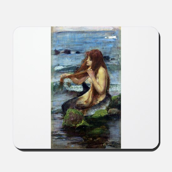 A Mermaid (study) Mousepad