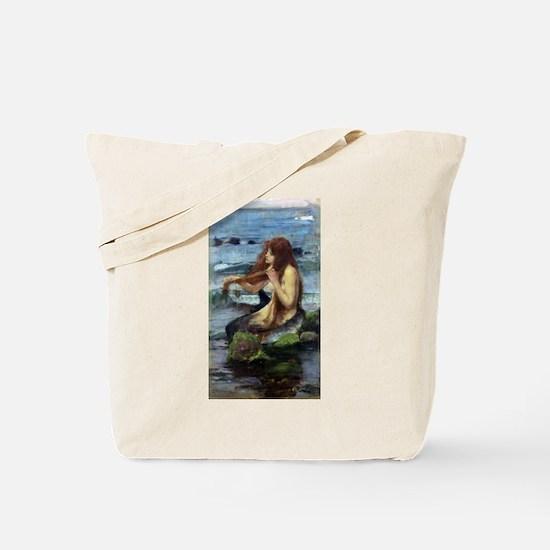 A Mermaid (study) Tote Bag