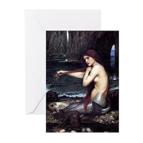 A Mermaid Greeting Cards (Pk of 10)