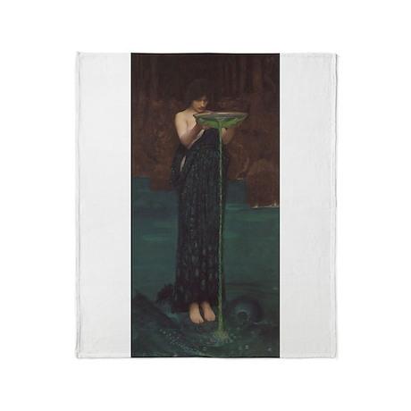 Circe Invidiosa Throw Blanket