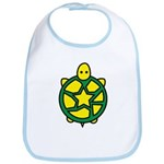 Star Turtle Bib